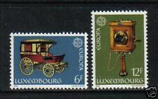 Luxembourg 1979 Europa/Communication--Attractive Topical (624-25) MNH
