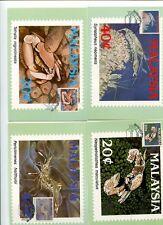 MALAYSIA MAXIMUM CARDS 1989 MARINE LIFE 2ND SERIES # 929