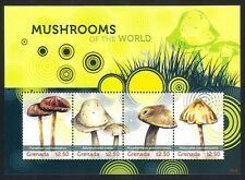 Grenada 2009 Fungi/Plants/Nature/Mushrooms 4v m/s (n32618)