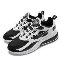 Nike Air Max 270 React White Black Men Casual Lifestyle Shoes Sneaker CT1646-100