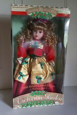 Victorian Garden 1998 Holiday Limited Edition Christmas Porcelain Doll Nrfb