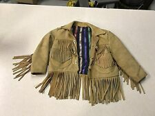 Vintage Childs Indian Leather Jacket