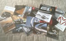 AMERICAN CAR   BROCHURES X 16            SEE PHOTOS FOR WHAT IS INCLUDED