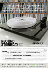 Rega Record Store Day 2018 Turntable / Now available
