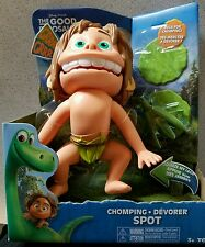 Disney Pixar THE GOOD DINOSAUR CHOMPING SPOT Figure & 2 Bugs 7 Sounds NISB