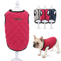 Small Dog Winter Coat Chihuahua Clothes Pet Cat Puppy Vest Jacket French Bulldog