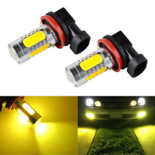 H11 H8 H9 COB LED For Acura TSX 04-14 TL 07-14 Fog Light Lamp Bulbs 3000K Yellow