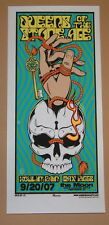 Queens of the Stone Age QOTSA Tallahassee 2007 Mike Martin Poster Handbill Print