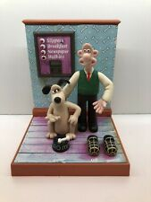 Wallace and Gromit Talking Alarm Clock retro vintage rare collectable Wesco 1995