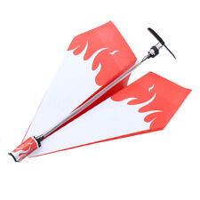 Electric Power up RC Paper Plane Airplane Conversion Educational Toy Christmas