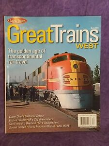 CLASSIC TRAINS MAGAZINE  GREAT TRAINS West Extra 2016 special issue
