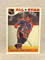 1985 Topps Sticker Insert #2 Wayne Gretzky All Star HOF