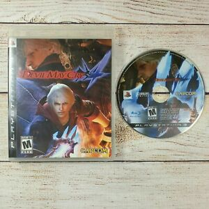 Devil May Cry 4 DMC4 DMC (Sony PlayStation 3 PS3 2008) Video Game No Manual