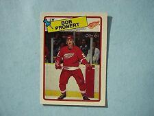 1988/89 O-PEE-CHEE NHL HOCKEY CARD #181 BOB PROBERT ROOKIE EX/NM NM SHARP!! OPC
