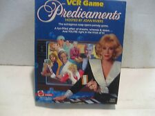 Predicaments Hosted By Joan Rivers 1986 Soap Opera Board Game By Mattel    gm111