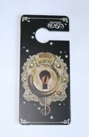 Muggle Worthy Door Sign Fantastic Beast Black Design Harry Potter Door Hanger