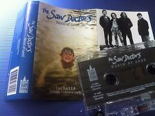 THE SAW DOCTORS - WORLD OF GOOD - 4 TRACK cassette SINGLE tape