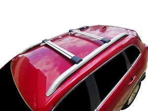 Aerodynamic Alloy Roof Rack Cross Bar for Volkswagen Touareg 10-18 Lockable