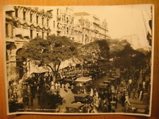 ~1930 altes Foto Rio de Janeiro Trecho da avenida rio Branco / Brasilien Brazil