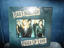 "Bad English-price of love 12"" P/S 1990"