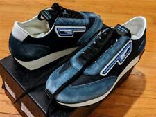 $690 Mens Prada Sport Suede Sneakers Navy/Blue UK 10 US 11