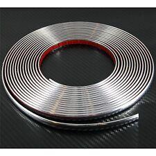 (0.9cm) 9mm x 2m Cromo Auto Styling stampaggio strip per PEUGEOT 208 304