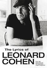 The Lyrics of Leonard Cohen by Leonard Cohen Paperback Book