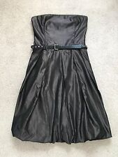ZARA Brown Satin Dress-Taille M-PROM
