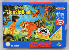 Jeu THE JUNGLE BOOK sur Super Nintendo SNES Neuf carton d'usine PAL