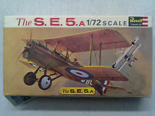 Revell H-633 The S.E.5. A 1:72 Neu, lose Teile, offene OVP, mit Lagerspuren