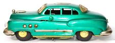 RARE VINTAGE EARLY JAPANESE 1950'S GREEN BUICK 4-DOOR ELECTROMOBILE