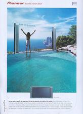 "Pioneer PDP-433HDE TV ""Pure Exhilaration 2003 Magazine Advert #2637"