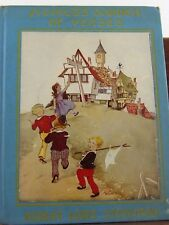 Robert Louis Stevenson Child's Garden of Verses Illustrated by Eul Alie New York