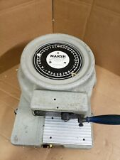 "Marsh Model Q Stencil Machine 1/4"" Characters"