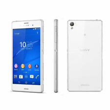 Sony Ericssion XPERIA Z3 D6603 -20.7MP - 16GB - 4G Smart Phone - White Unlocked