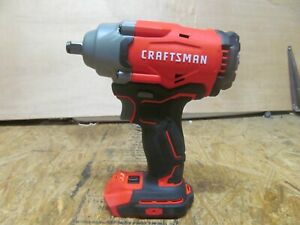 """Craftsman CMCF920B 20V 1/2"""" Brushless Impact Wrench - Tool Only      (lot 15801)"""