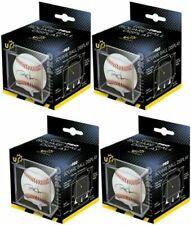 (4 NEW) Ultra Pro Baseball Square Display Built in Cradle, UV 4 Baseball Cubes