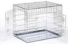 PGO Heavy Duty Folding Dog Cage Pet Carrier - Large