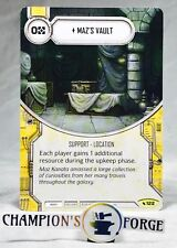 Star Wars Destiny Legacies Maz's Vault #122 Uncommon