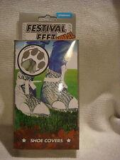 Zapato pies Festival y entrenador cubiertas para festivales de elefante fangoso y húmedo