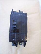 Crabtree c50 10 Amp Bipolare MCB interruttore automatico.
