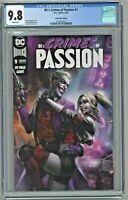 DC's Crimes of Passion #1 CGC 9.8 Comic Mint Edition Ian MacDonald Cover Variant