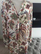 Zara Shirt Top Women's Size Large Blouse NEW