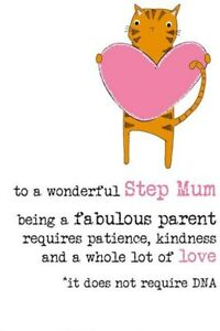 Step Mum A Parent Requires Love Not DNA Mothers Day Card – Dandelion Stationery