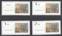 Canada Year 2019 - Mint NH -- Kiosk Stamps Complete set #3