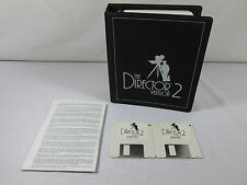 The Director Version 2 Amiga Computer Software Vintage Computing RARE