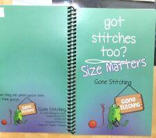 Needlepoint Stitch reference Book Got Stitches too Size Matters Gone Stitching