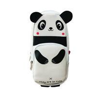 Panda Shape Pencil Case Large Capacity Kids Students Cute Pen Holder Bag