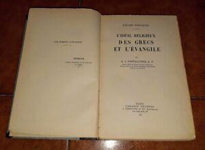Festugière L'Idéal Religieux Des Grecs Et L'Évangile Études Bibliques 1932