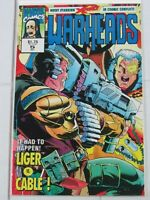 Warheads #5 Oct. 1992 Marvel UK Comics
